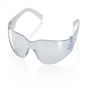 This image shows our standard safety spectacles that we supply.