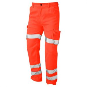 Deluxe Hi-Vis Condor Cargo Trouser Orange