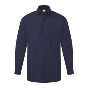 Premium L-S Oxford Shirt Royal