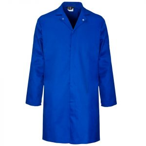 Royal Blue Food Coat Front