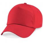 Bright Red Cap